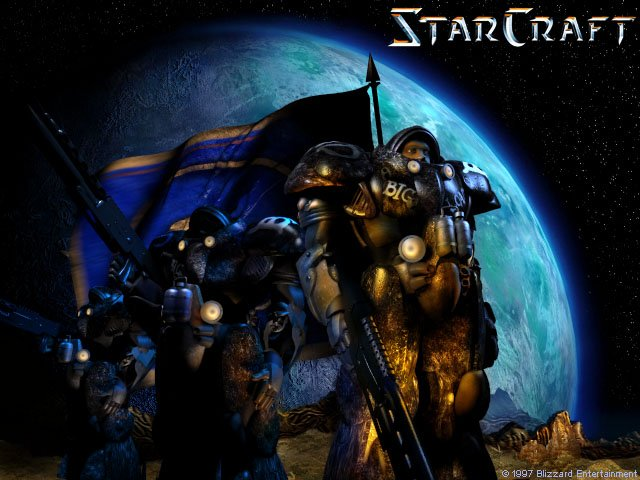 Starcraft Original Terrans
